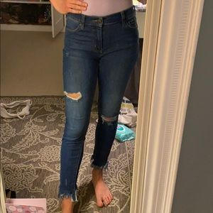 Distressed FP jeans
